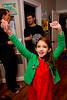 Evie celebrates - 2016-12-18