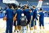 Georgia Tech huddles up - 2016-03-10