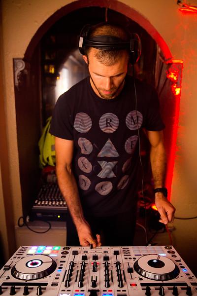 Frankie DJing - 2016-07-16