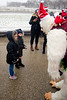 Abominable snowman says hi to kids - 2017-12-09