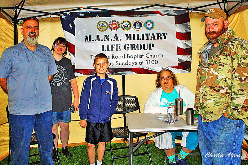 M.A.N.A. Military Life Group booth