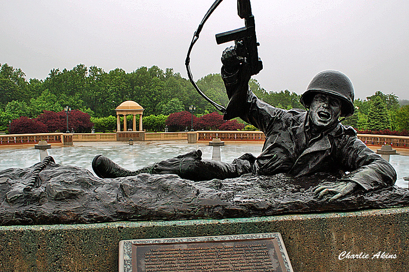Sculpture at the National D-Day Memorial