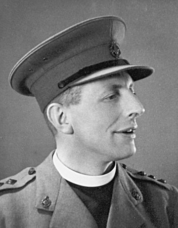 <font size=3><u> - Revd JJ Carpenter Army Chaplain - 1944 - </u></font> (BS0680)  Vicar of Benson 1963 -66.   After war service as an Army Padre, then long term Vicar at Banbury.  Tenure at Benson tragically short.  Had a stroke whilst delivering his sermon.