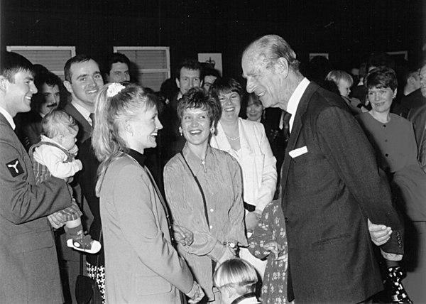 <font size=3><u> - Visit Duke of Edinburgh - 1995 - </u></font> (BS0091)