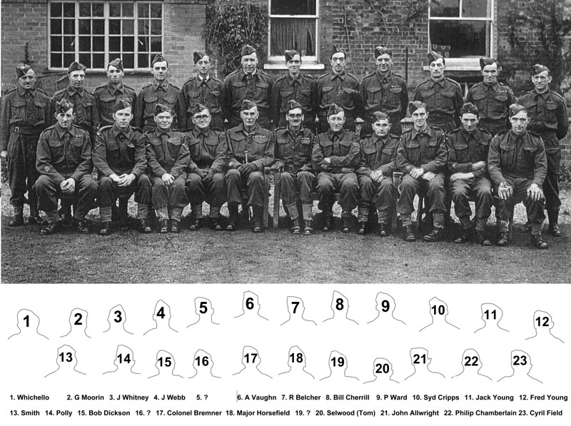 <font size=3><u> - Benson Home Guard - </u></font> (BS1131)