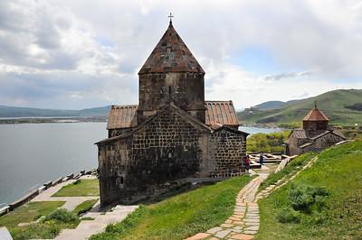 Armenia: Lake Sevan: Sevanavank Monastery 2014