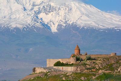 Armenia: Mount Ararat: Khor Virap Monastery 2015