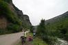 The quiet M6 highway between Alaverdi and Vanadzhor