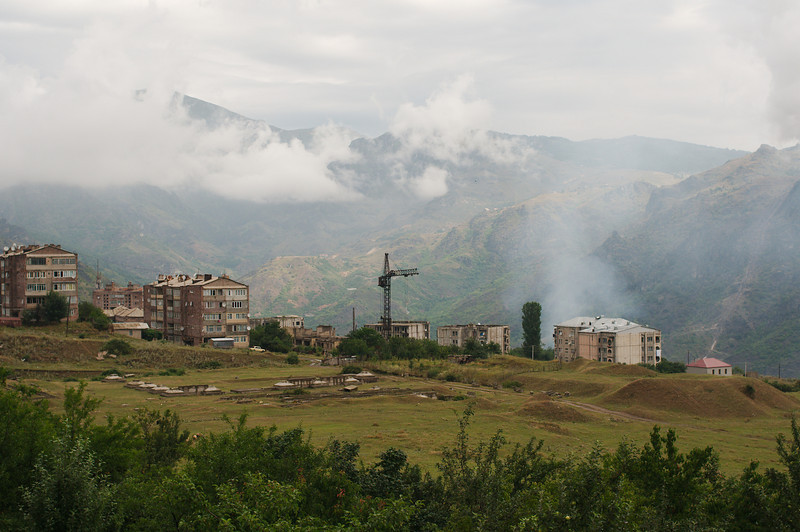 Sadahart (Sanahin), a suburb of Alaverdi sits hundreds of metres above the city