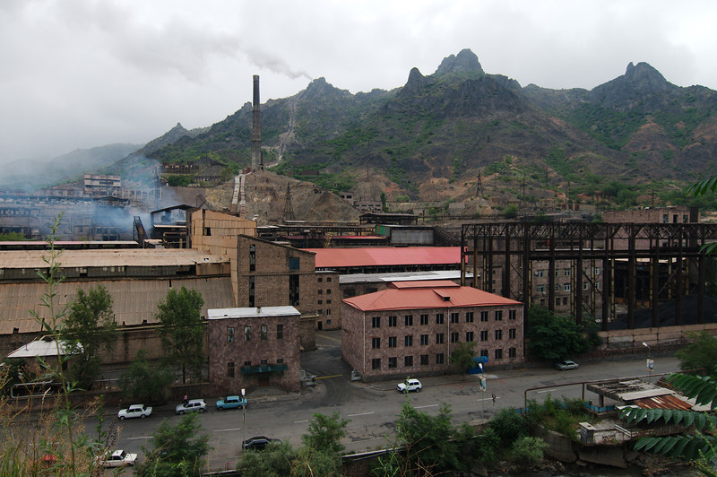 The impressive Alaverdi copper smelter