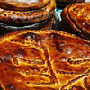 Armenian brioche (so delicious!) for sale outside Geghard Monastery