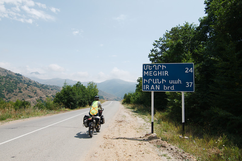 Approaching Meghri and the Iranian border