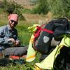 Campsite, 500 metres from Vorotan Pass