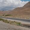 The barren landscape of the climb from Ararat Valley to Vayots Dzor