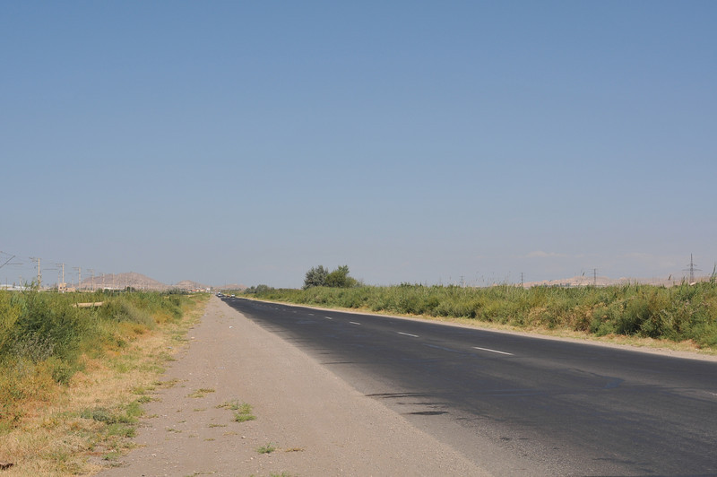Leaving the Ararat Valley, the climbing begins