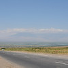 Leaving the Ararat Valley, our last views of the mountain