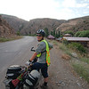 Cycling through Vayots Dzor province, following the Arpa River