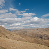 Near the top of a pass on the climb out of the Ararat Valley