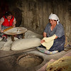 Making of Lavash ,a delicious and  traditional Armenian bread .