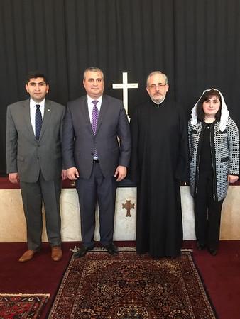 Armenian Ambassador visits St. James