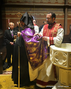 Archbishop Nourhan Manougian Honored at General Theological Seminary, February 6, 2014