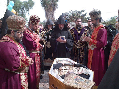 Archbishop Torkom Manoogian Laid to Rest