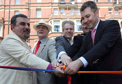 Armenian Festival at St. Sarkis Church, London, UK, July 14, 2013