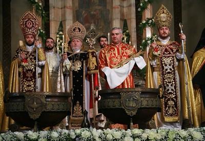 Armenians Around the World Celebrate Christmas, January 6, 2015