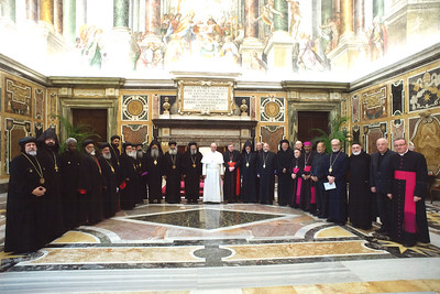 Catholic and Oriental Orthodox Clergy Meet in Rome, January 22-27, 2017