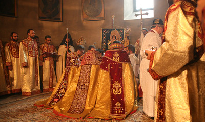 Consecration of Bishops at Holy Etchmiadzin, November 16, 2014