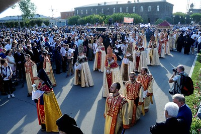 Consecration of Holy Muron, September 27, 2015