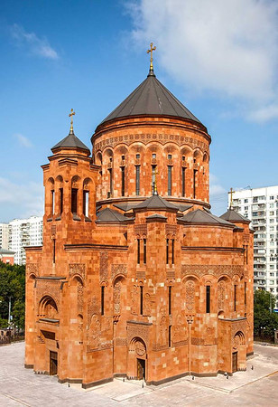 Consecration of Holy Transfiguration Cathedral, Moscow, Russia, September 17, 2013