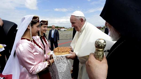 Pope Francis Visits Armenia, June 24-26, 2016