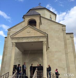 Soorp Garabed Church in Yakutsk, September 2014