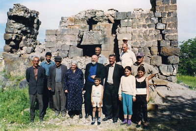Sourp Asdvadzadzin Church of Ashnak, Armenia