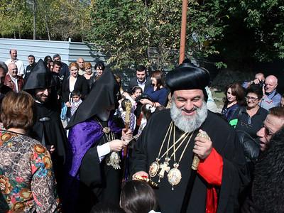 Syriac Patriarch Ignatius Visits Armenia, October 2014