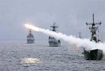 The Standard Missile was produced in two major types, the SM-1 MR/SM-2 (medium range) and the SM-2 (extended range). It is one of the most reliable in the Navy's inventory.