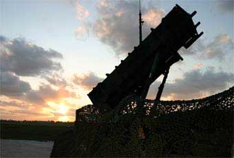 The PATRIOT (Phased Array Tracking Intercept of Target) is the U.S. Army's most advanced air defense system. Capable of defeating both high performance aircraft and tactical ballistic missiles, it is the only operational air defense system that can shoot down attacking missiles.