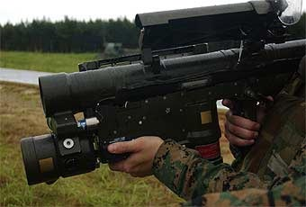 The Stinger is a man-portable, shoulder-fired guided missile system which enables the Marine to effectively engage low-altitude jet, propeller-driven and helicopter aircraft.