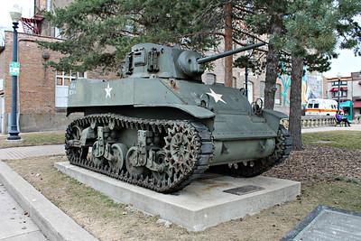 Sherman and Stuart Tanks