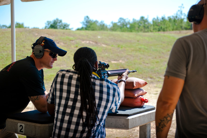 194th Headquarters, Headquarters Company Personally Owned Weapons safety Shoot.