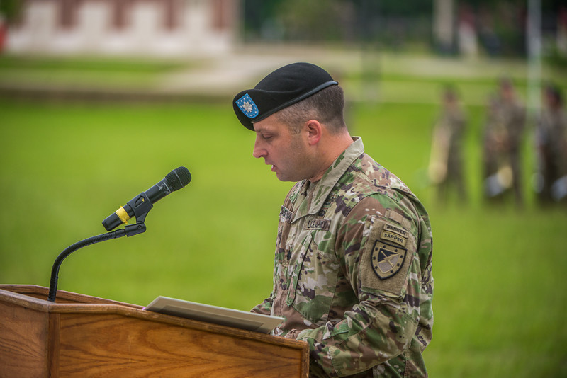 1st Battalion, 29th Infantry Regiment Change of Command Ceremony
