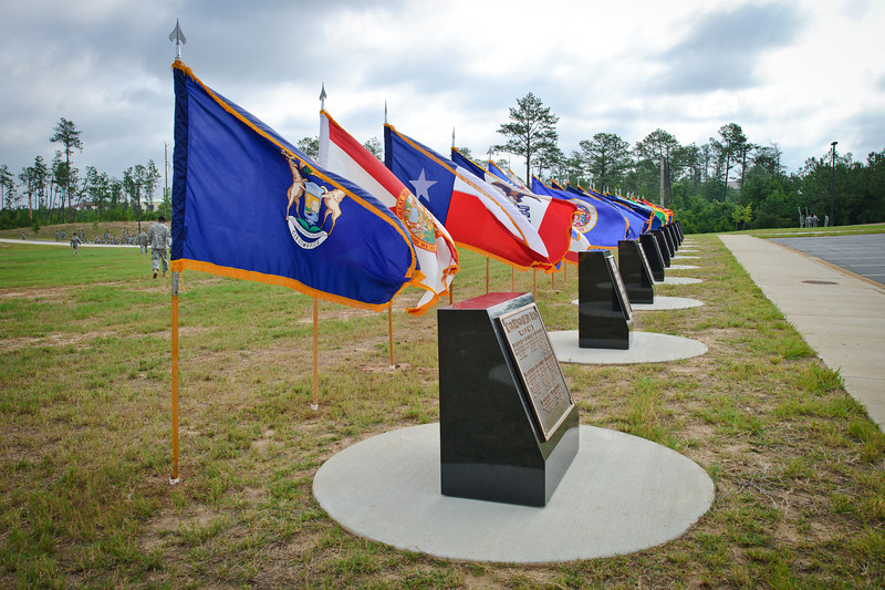 20 JUNE 2011 (FORT BENNING, GA) - The 194th Armor and 316th Cavalry Brigades officially became a part of Fort Benning, the Maneuver Center of Excellence, as they uncased their colors at Brave Rifles Field. Photo by Kristian Ogden.