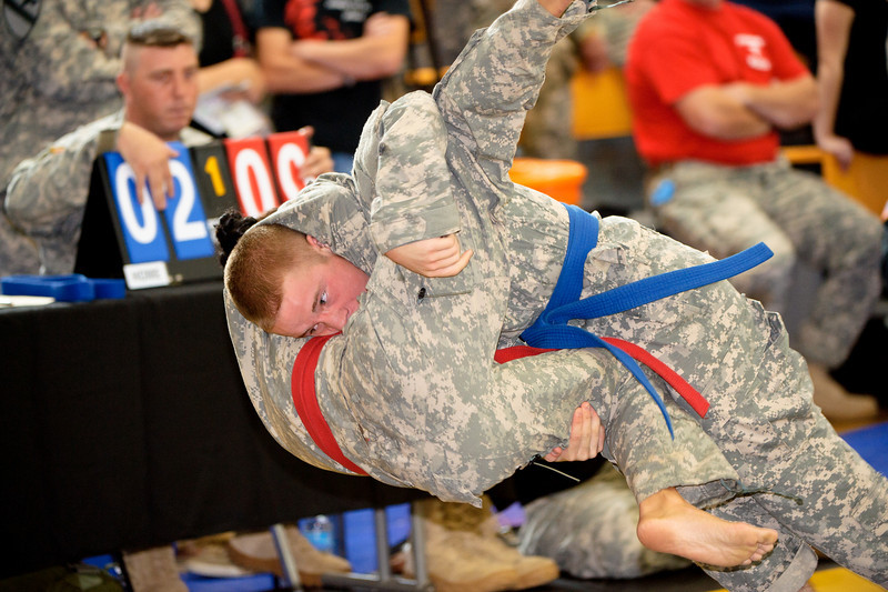 01OCT2010 - Day one of the US Army Championship Combatives Tournament, Smith Fitness Center, Fort Benning, GA MCoE.  Photo by John D. Helms - john.d.helms@us.army.mil