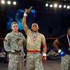 03 OCT 2010 - Bout 12 Welterweight Champion Marquis Daniels defeated Trey Robbins on the third and final day of competition at the MACP All Army Championship Tournament, Smith Gym, Fort Benning, GA. Photo by John D. Helms - john.d.helms@us.army.mil