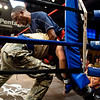 03 OCT 2010 - Bout 2 Flyweight Eclavea def. Thorton on the third and final day of competition at the MACP All Army Championship Tournament, Smith Gym, Fort Benning, GA. Photo by John D. Helms - john.d.helms@us.army.mil