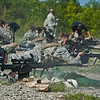 2011-04-22 Students in week four of Sniper School, fire M107 .50 caliber long range sniper rifles. Coolidge Range, Harmony Church. Photo by Susanna Avery-Lynch - susanna.lynch@us.army.mil