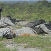 2011-04-22 Students in week four of Sniper School, fire M107 .50 caliber long range sniper rifles. Coolidge Range, Harmony Church. Video by Joe Lynch.