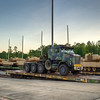 The first five M1A2SEP tanks from Fort Knox arrive at Fort Benning, GA by rail early on the morning of August 11, 2010.  Photo by John D. Helms - john.d.helms@us.army.mil