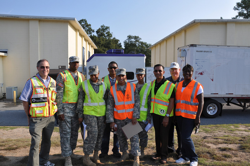 Installation Transportation Office (ITO) augmentation team from the Surface Deployment and Distribution Command (SDDC)